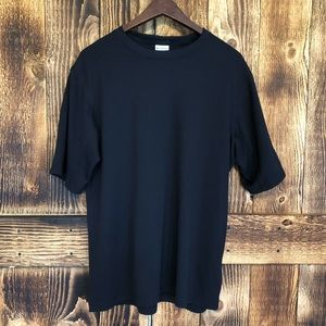 Columbia - Black Short Sleeve Tee - L